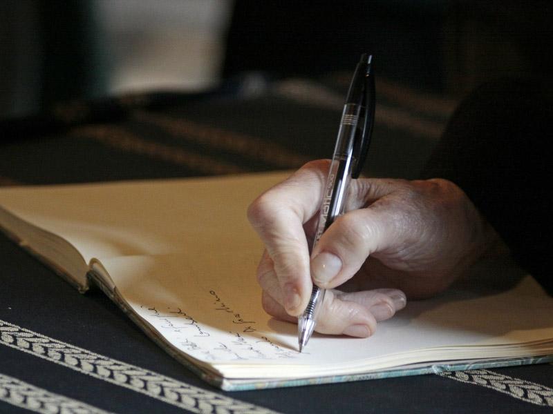 Hand write letter